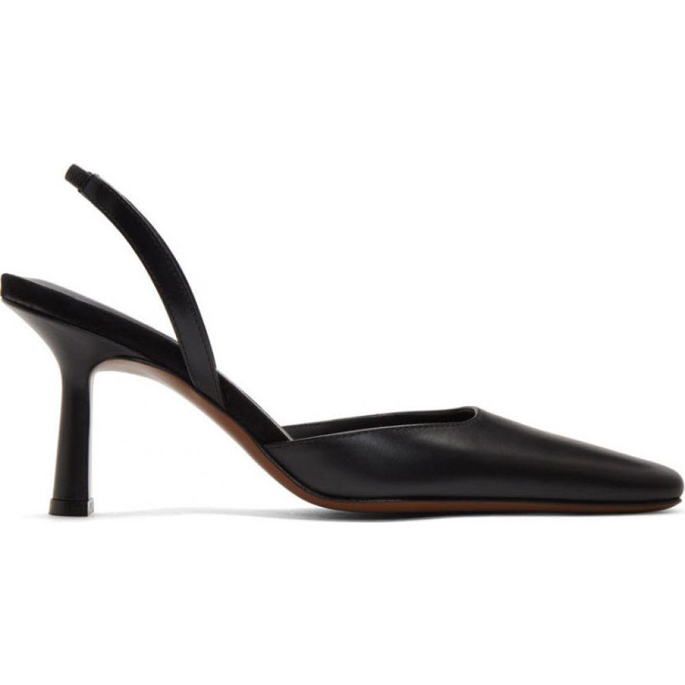 ネオアス NEOUS レディース ヒール シューズ・靴【Black Dracu 80 Slingback Heels】Black