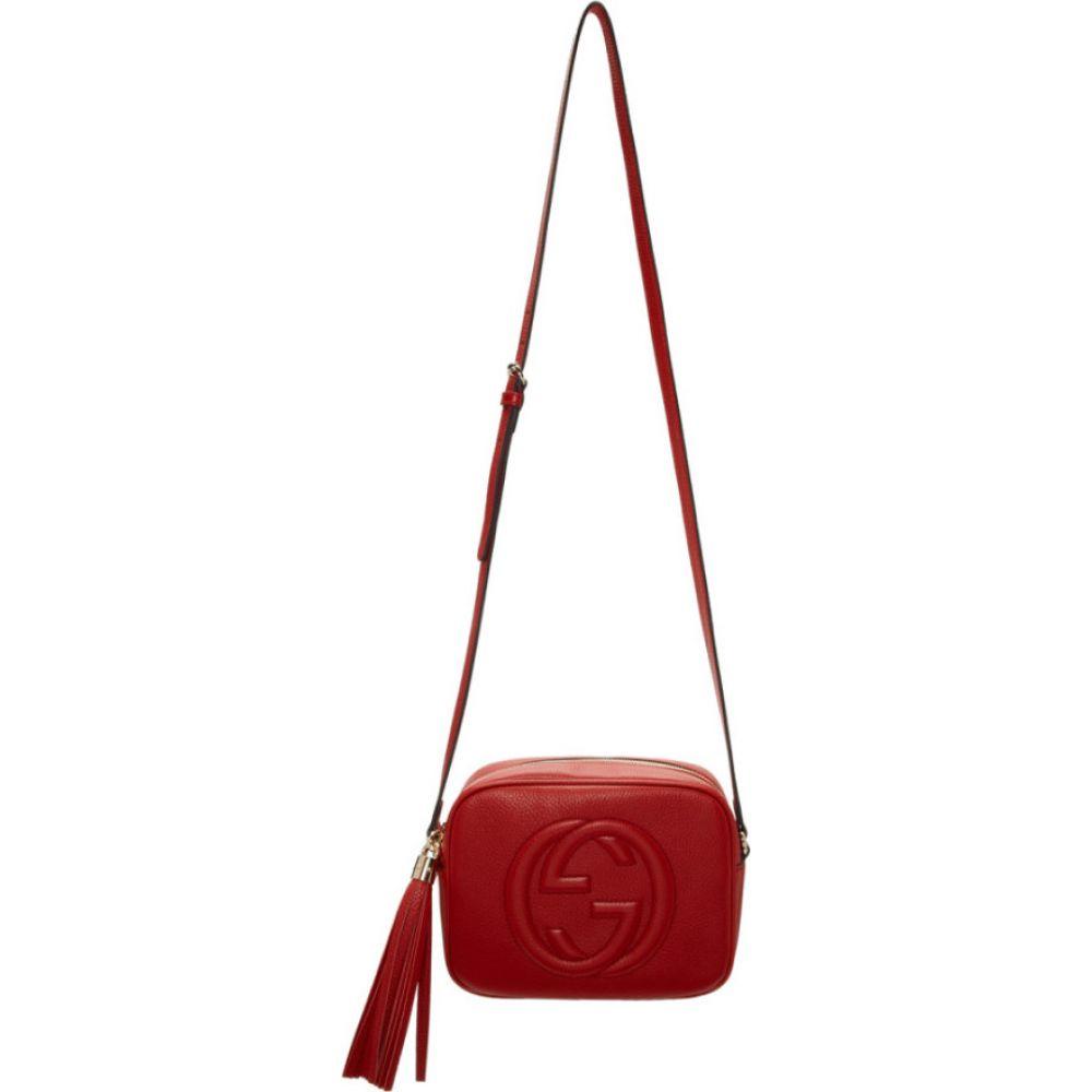 グッチ Gucci レディース ショルダーバッグ カメラバッグ バッグ【Red Small Soho Camera Bag】Red