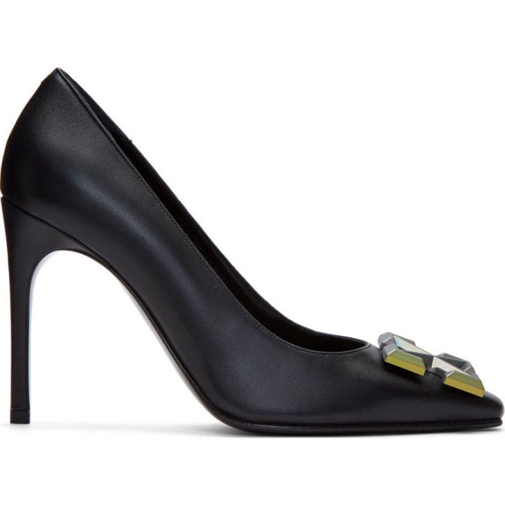 オフホワイト Off-White レディース ヒール シューズ・靴【Black Arrows Heels】Black