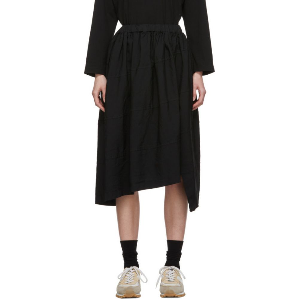 コム デ ギャルソン Comme des Garcons Comme des Garcons レディース ひざ丈スカート スカート【Black Diagonal Stitch Skirt】Black
