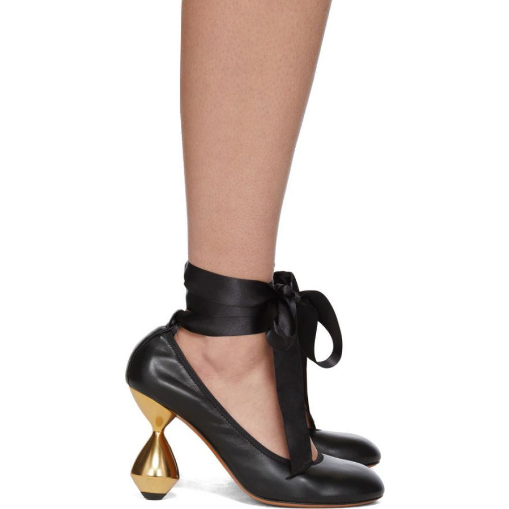 ロエベ Loewe レディース ヒール シューズ・靴【Black Ballerina 90 Heels】Black