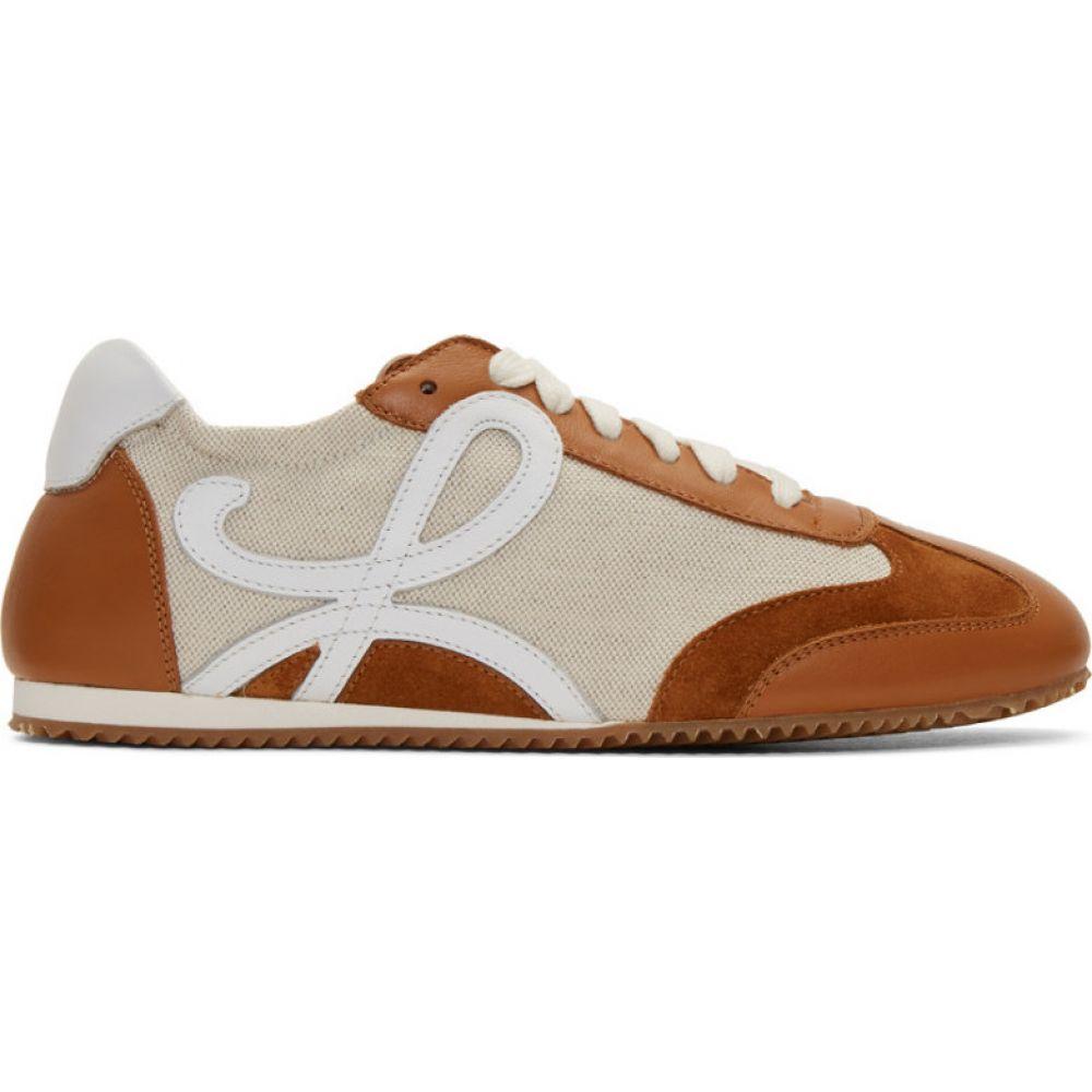 ロエベ Loewe レディース ランニング・ウォーキング スニーカー シューズ・靴【Beige Ballet Runner Sneakers】Sand/Caramel