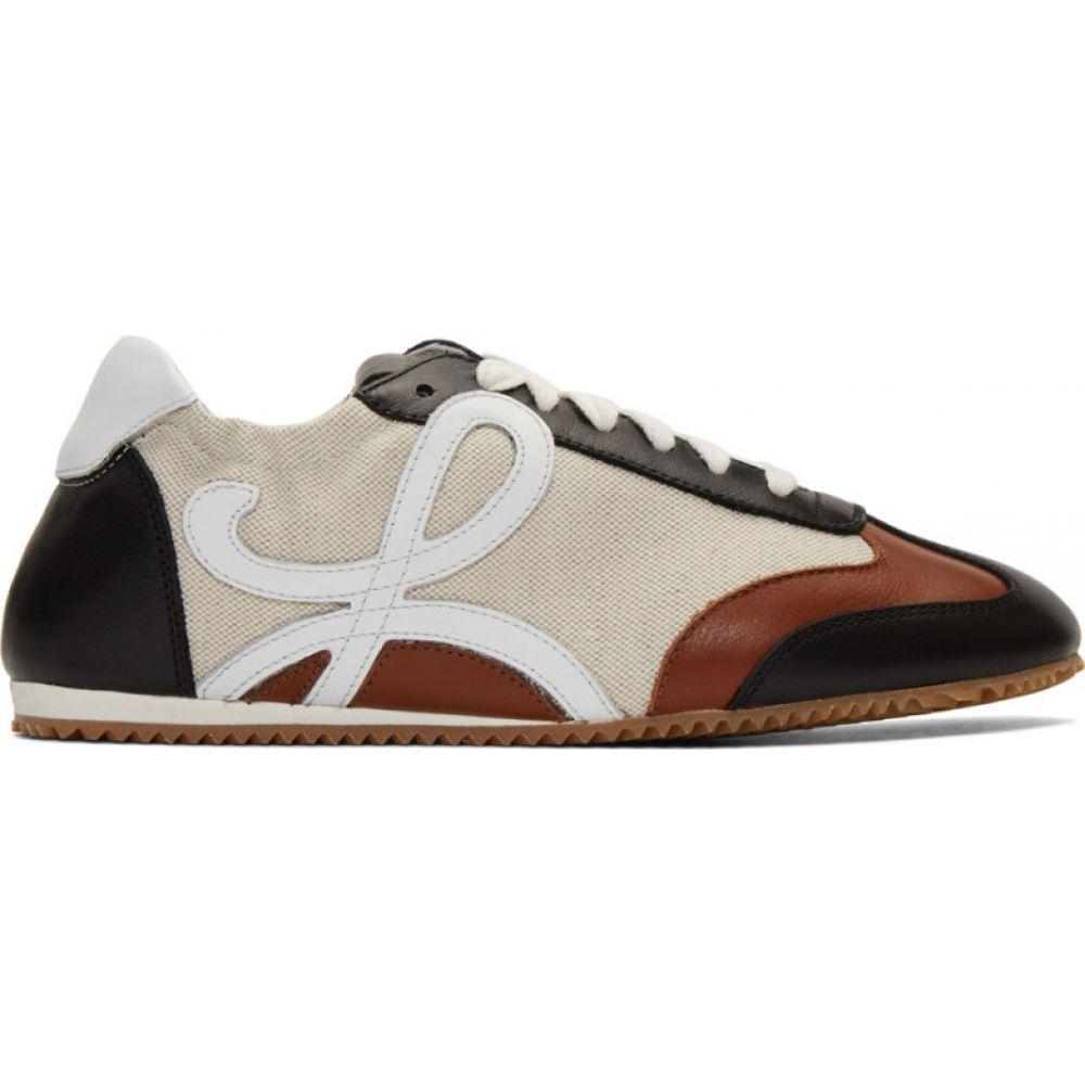 ロエベ Loewe レディース ランニング・ウォーキング スニーカー シューズ・靴【Beige & Navy Ballet Runner Sneakers】Sand/Dark navy