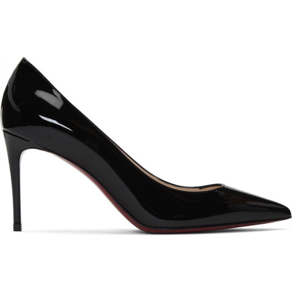 クリスチャン ルブタン Christian Louboutin レディース ヒール シューズ・靴【Black Patent Kate 85 Heels】Black