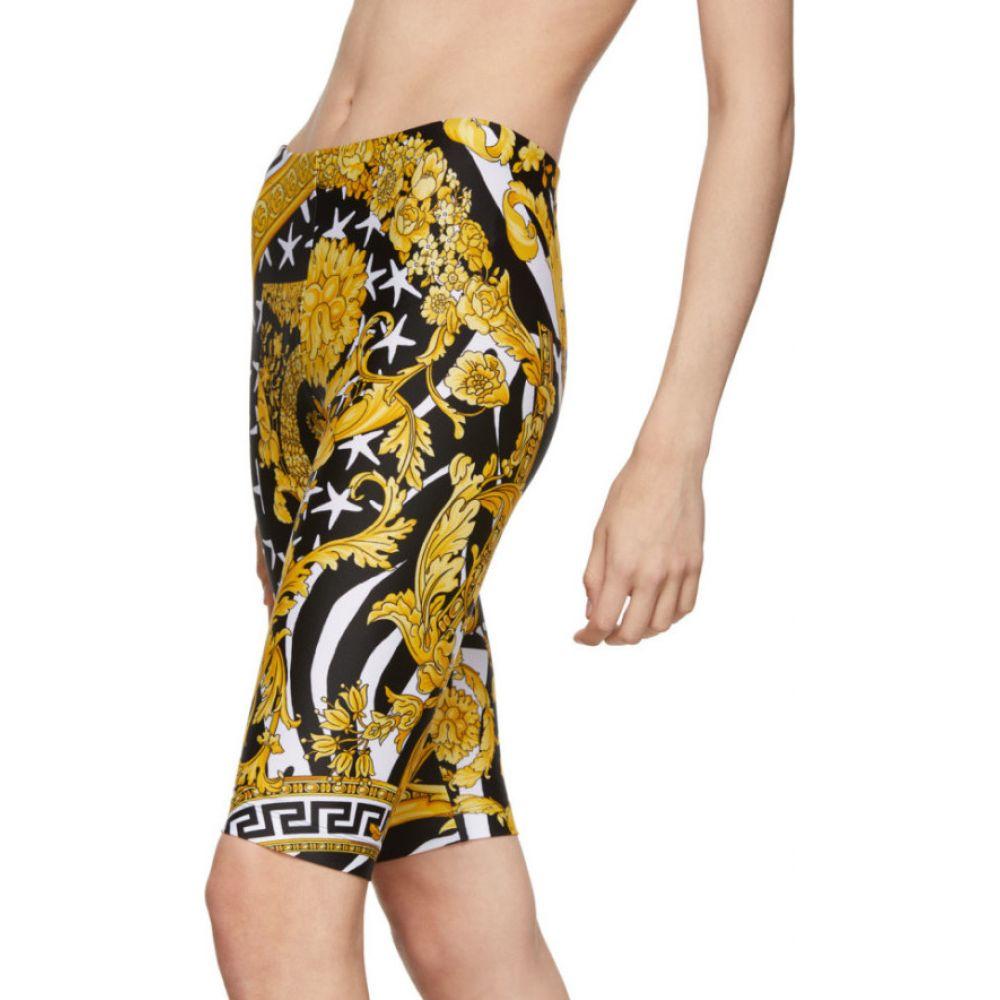 ヴェルサーチ Versace レディース ショートパンツ ボトムス・パンツ Multicolor Heritage Stamp Bike Shorts MulticolorrCWxedQBo