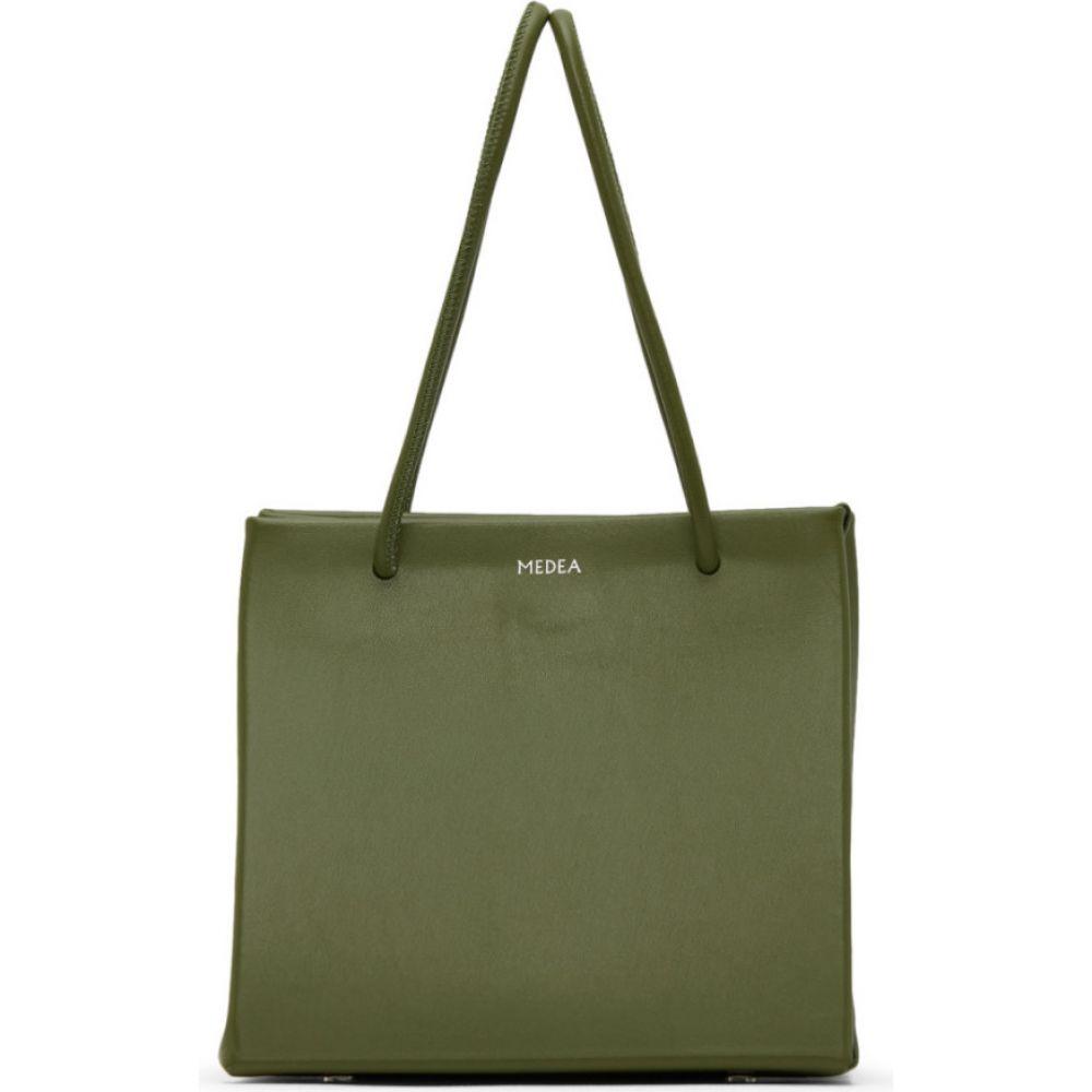 メデア Medea レディース トートバッグ バッグ【Green Ice Bag】Army green