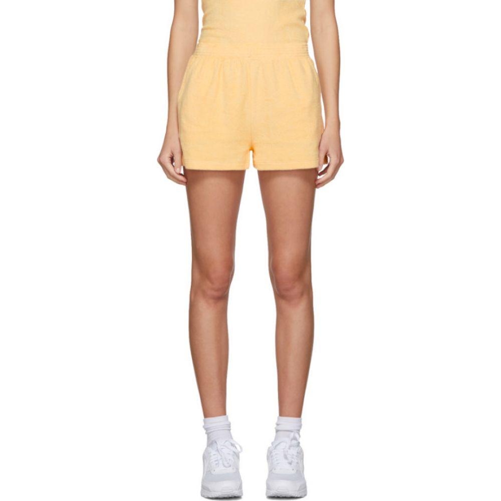 ギル ロドリゲス Gil Rodriguez レディース ショートパンツ ボトムス・パンツ【SSENSE Exclusive Yellow Terry Port Shorts】Butter