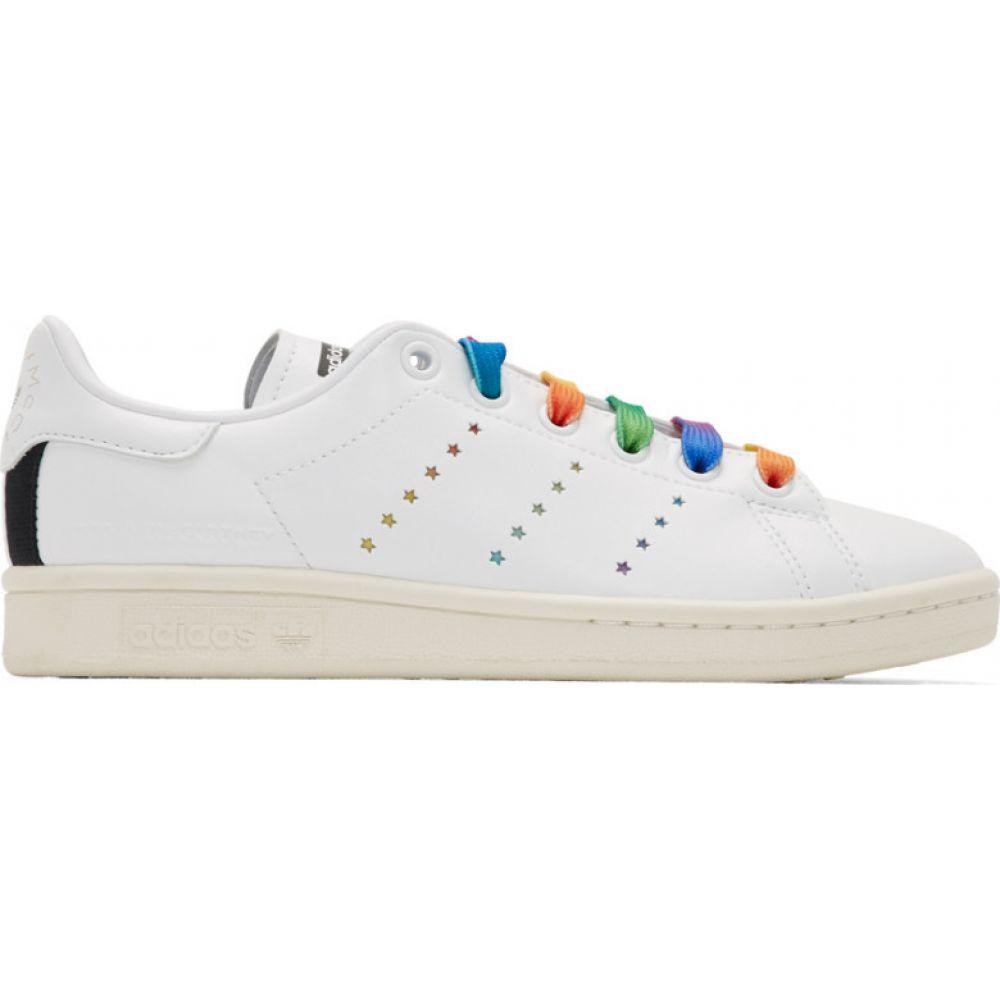 ステラ マッカートニー Stella McCartney レディース スニーカー シューズ・靴【White adidas Originals Edition Stan Smith Sneakers】White