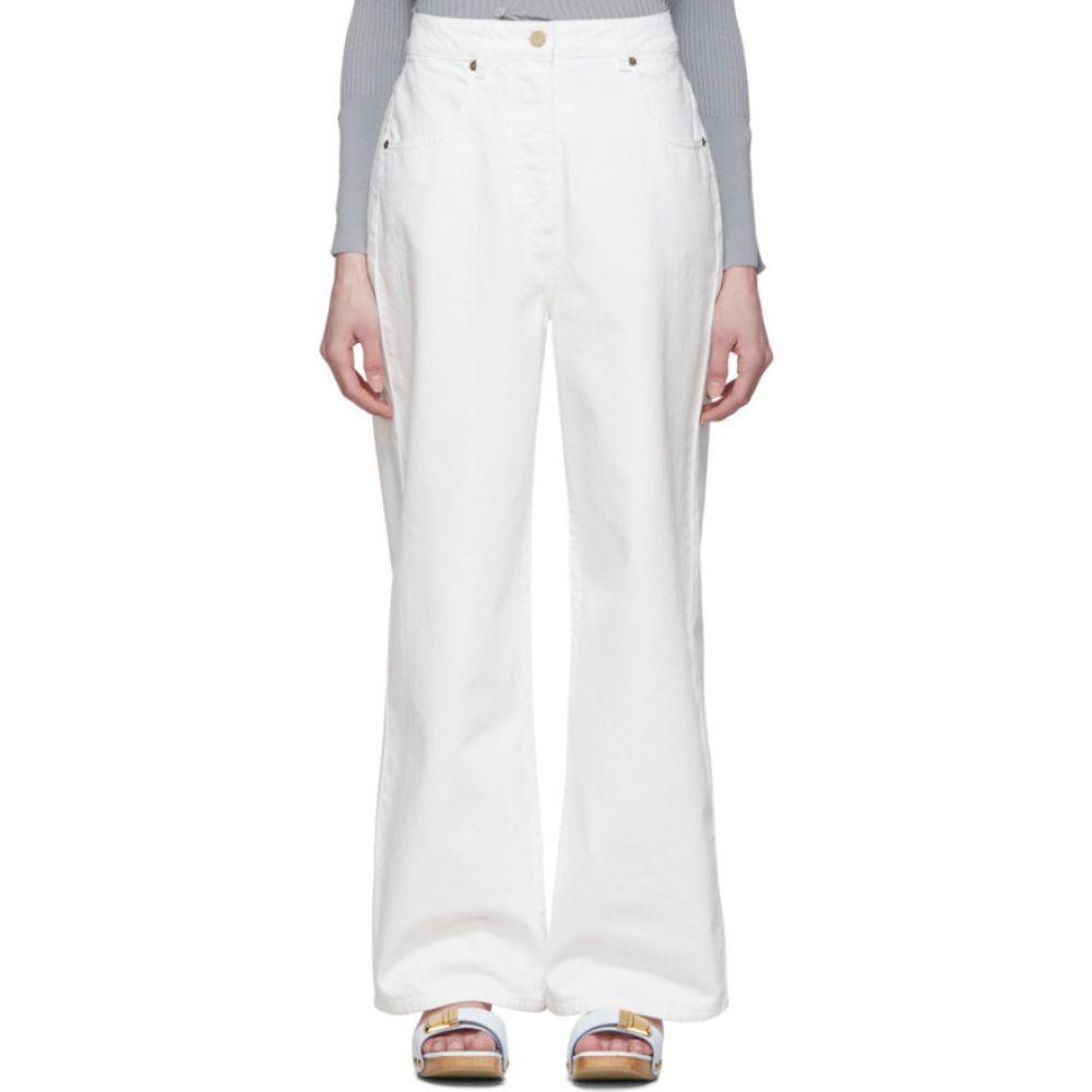 ジャックムス Jacquemus レディース ジーンズ・デニム ボトムス・パンツ【White 'Le Jean De Nimes' Jeans】White