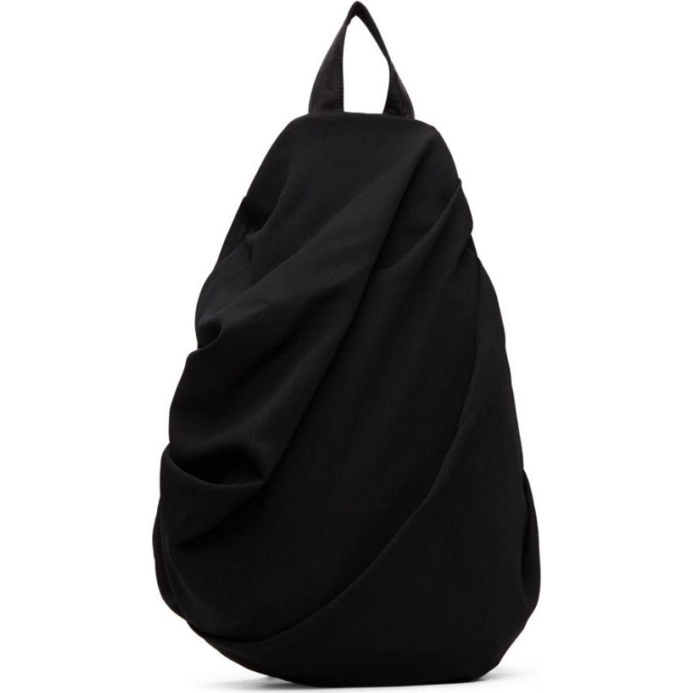 ヨウジヤマモト Yohji Yamamoto レディース バックパック・リュック バッグ【Black Drape Backpack】Black