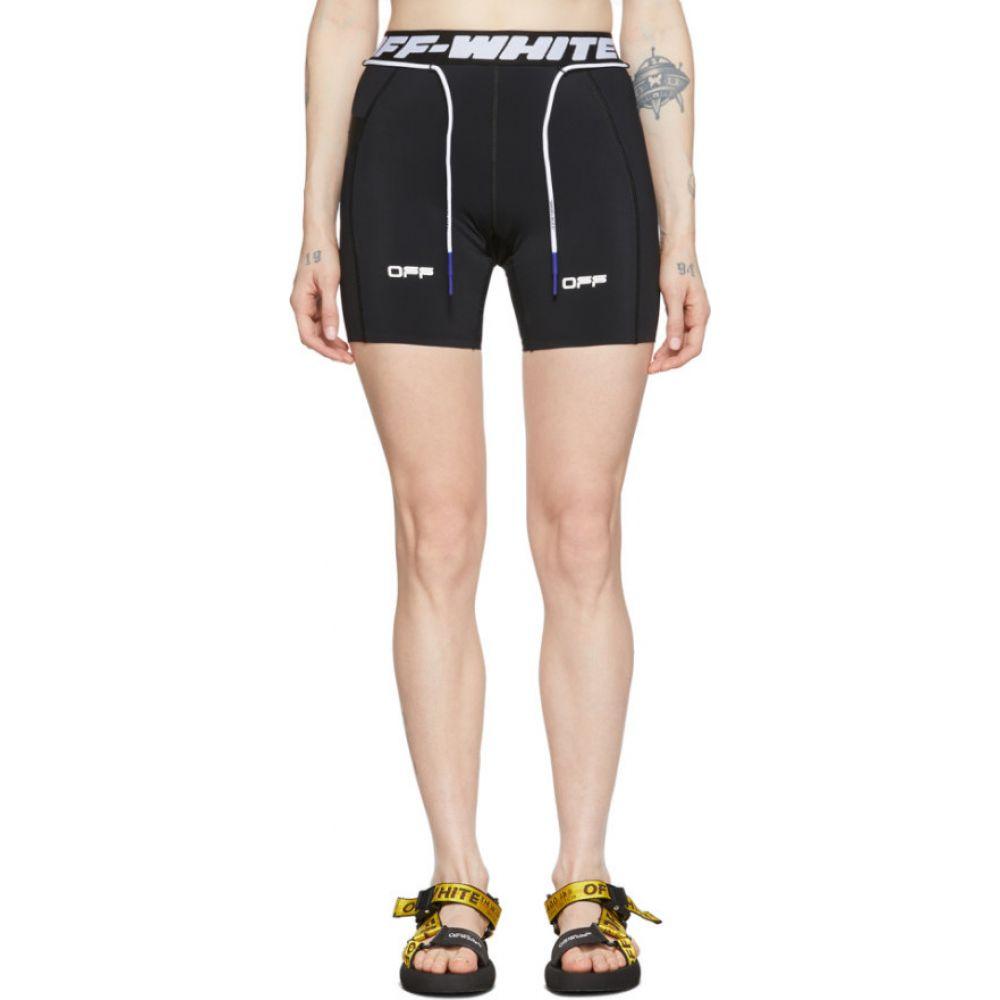 オフホワイト Off-White レディース 自転車 ショートパンツ ボトムス・パンツ【Black Active Cycling Shorts】Black