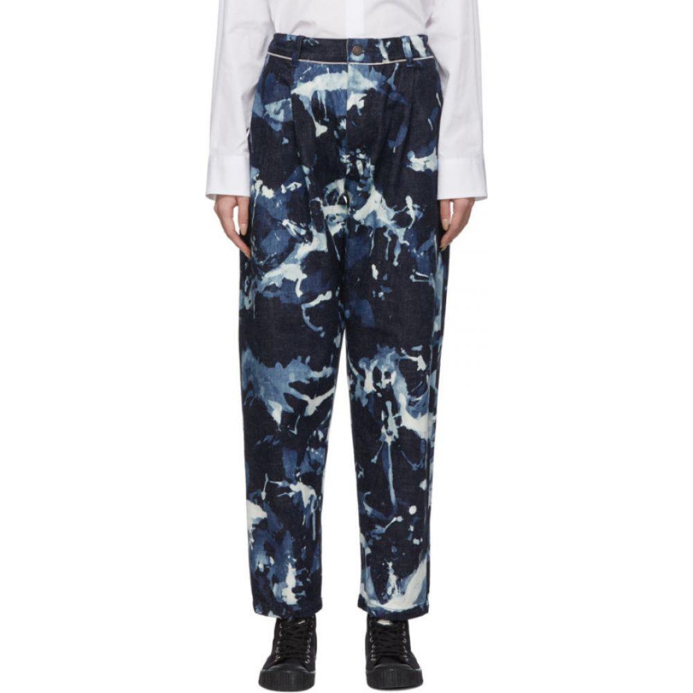 ブルーブルージャパン Blue Blue Japan レディース ジーンズ・デニム ボトムス・パンツ【Blue Kago Bassen Jeans】one
