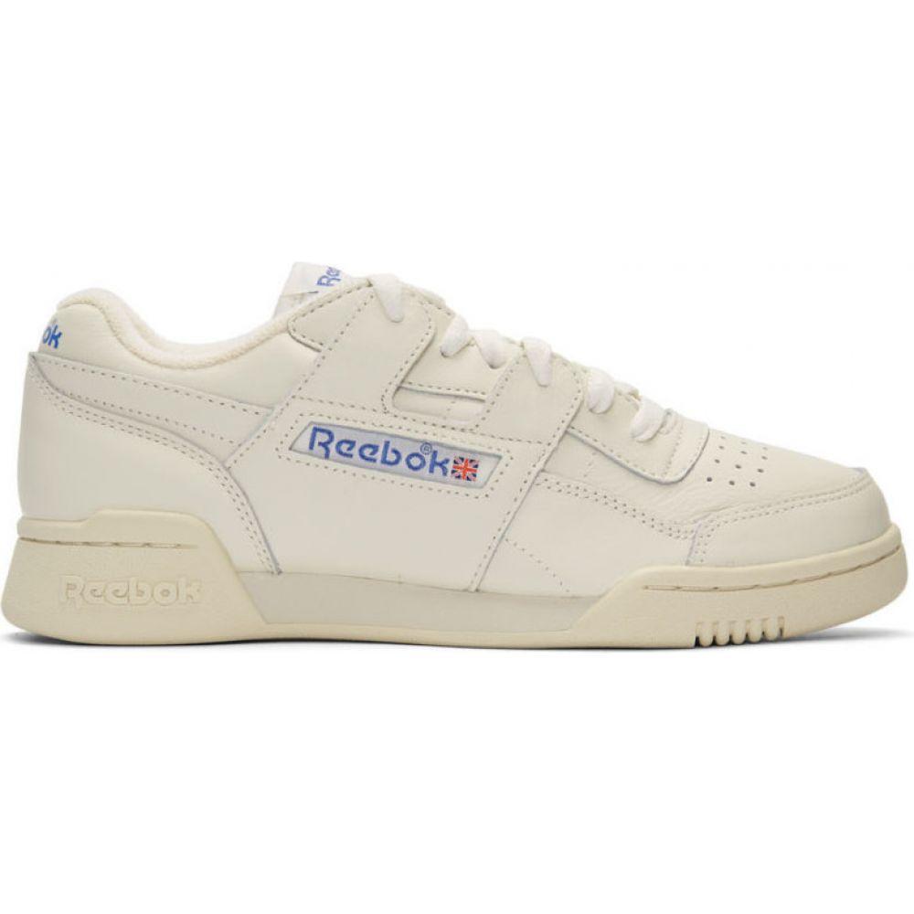 リーボック Reebok Classics レディース スニーカー シューズ・靴【White Workout Plus 1987 TV Sneakers】Chalk/Paper white/Royal blue