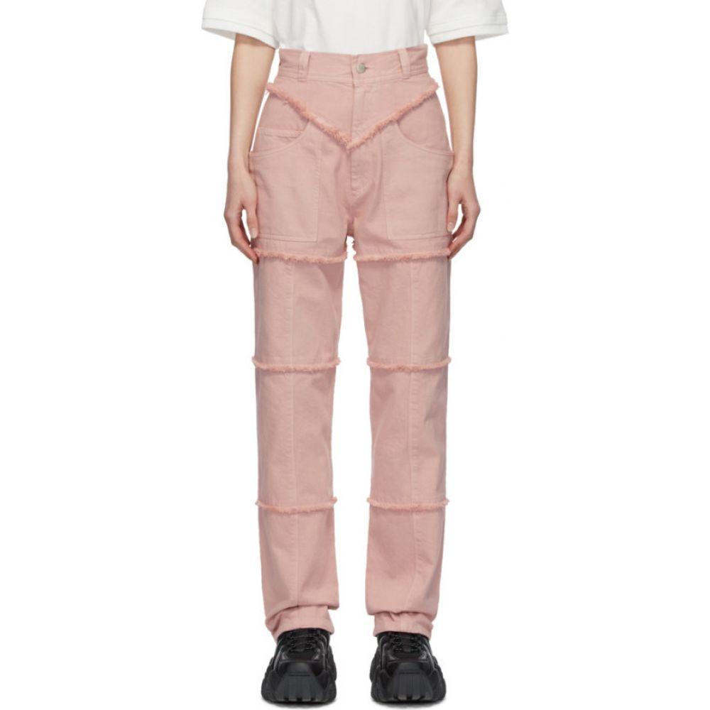 アンブッシュ Ambush レディース ジーンズ・デニム ボトムス・パンツ【Pink High-Waisted Jeans】Pink