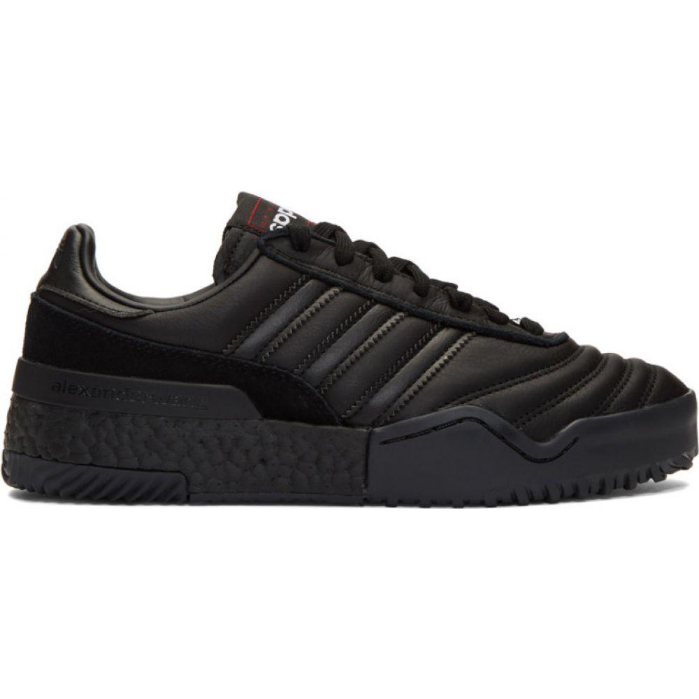 アディダス adidas Originals by Alexander Wang レディース スニーカー シューズ・靴【Black B-Ball Soccer Sneakers】Core black