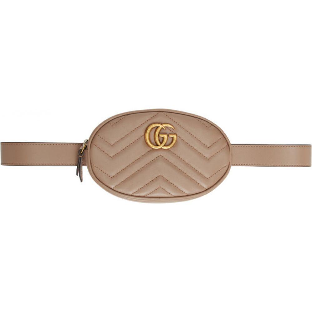 グッチ Gucci レディース ボディバッグ・ウエストポーチ バッグ【Pink GG Marmont 2.0 Belt Pouch】
