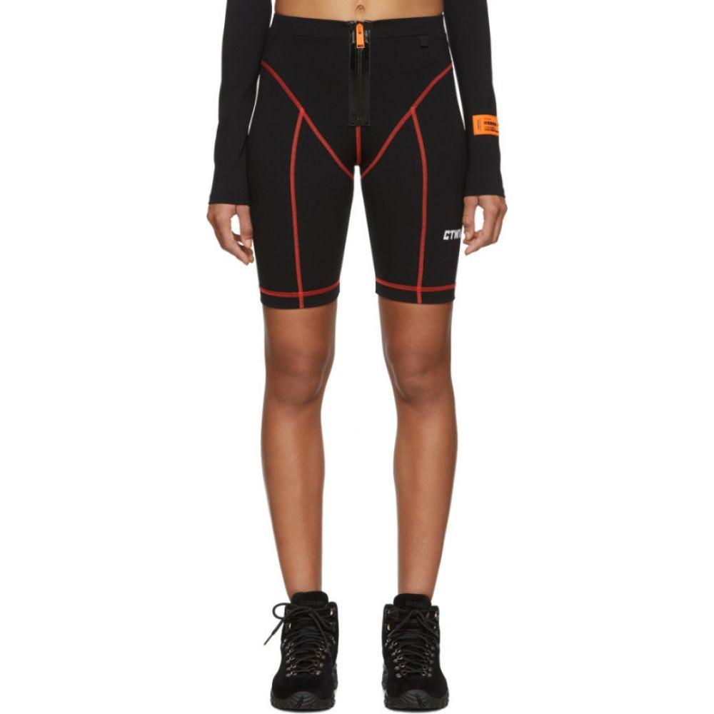 ヘロン プレストン Heron Preston レディース 自転車 ショートパンツ ボトムス・パンツ【Black 'Style' Active Biker Shorts】Black/White