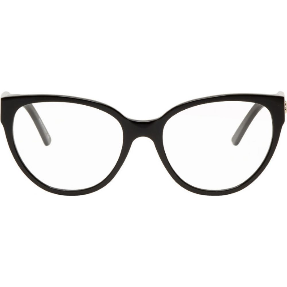 バレンシアガ Balenciaga レディース メガネ・サングラス 【Black Acetate Cat-Eye Glasses】Black