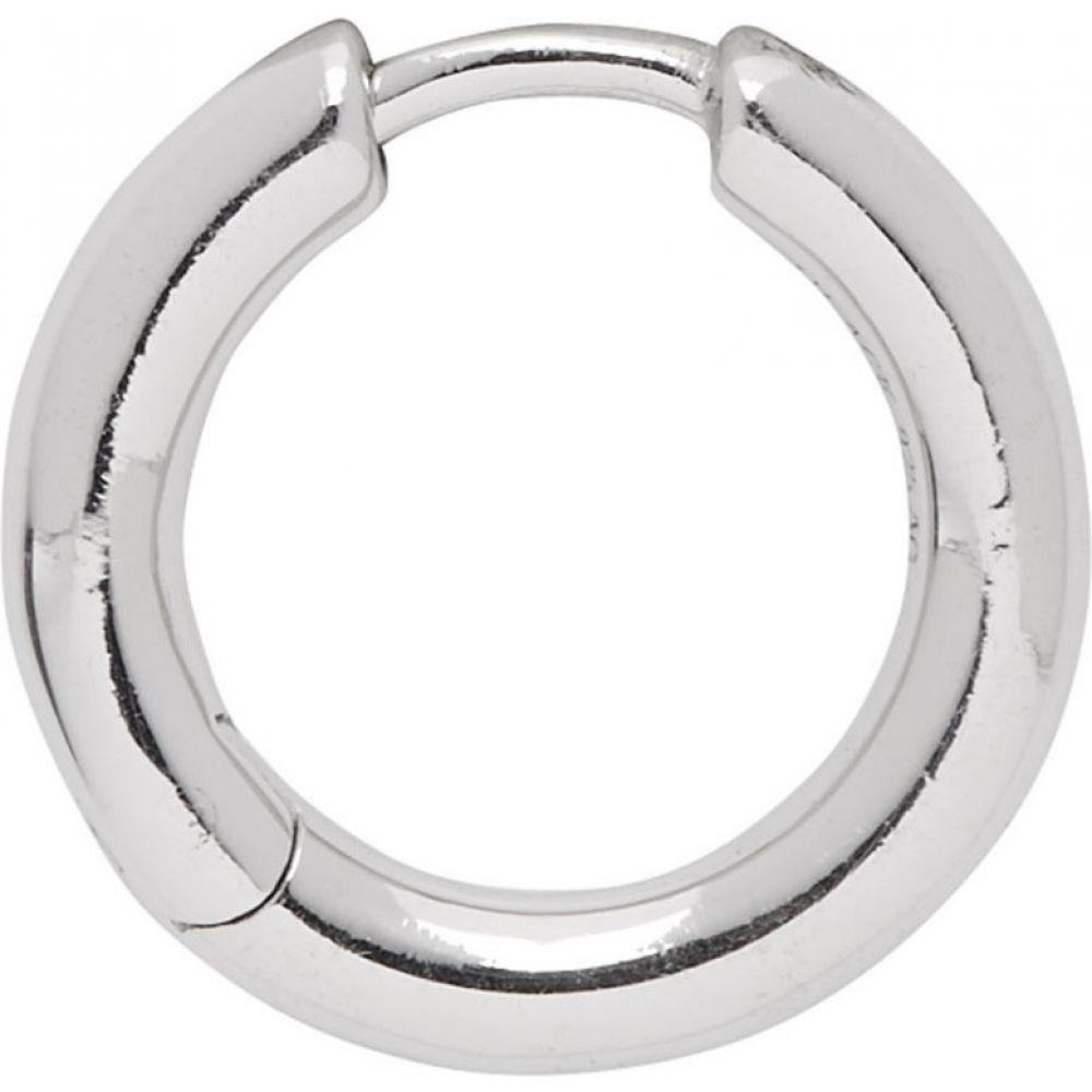 マリア ブラック Maria Black レディース イヤリング・ピアス ジュエリー・アクセサリー【Silver Single Polo Huggie Earring】Silver