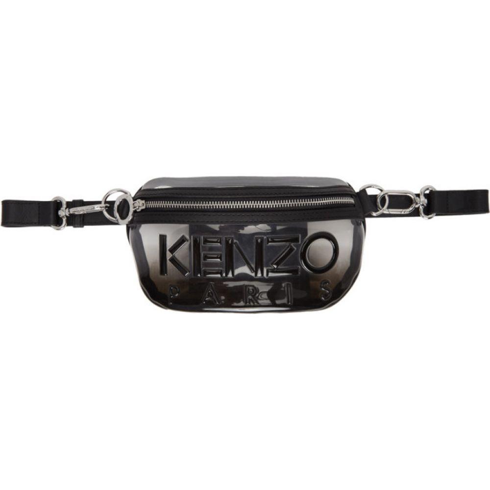 ケンゾー Kenzo レディース ボディバッグ・ウエストポーチ バッグ【Black Kombo Bum Bag】Black