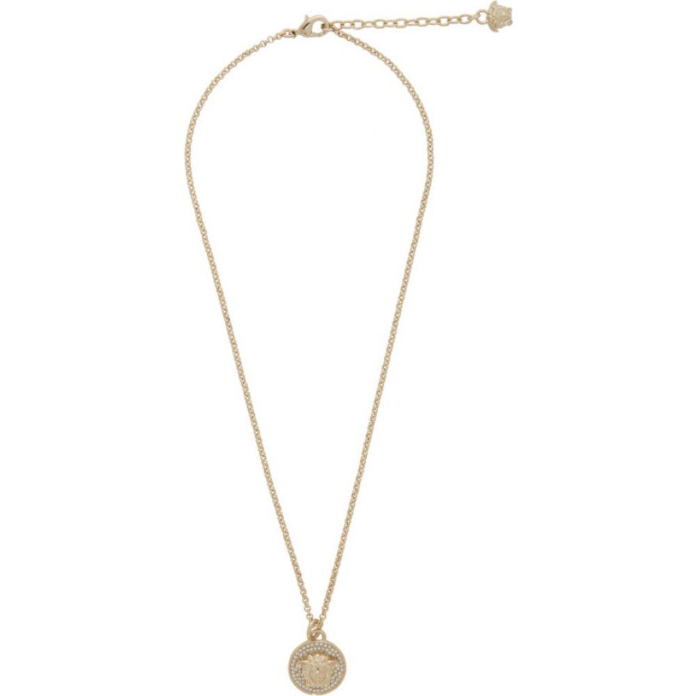 ヴェルサーチ Versace レディース ネックレス メデューサ ジュエリー・アクセサリー【Gold Small Medusa Coin Necklace】Gold