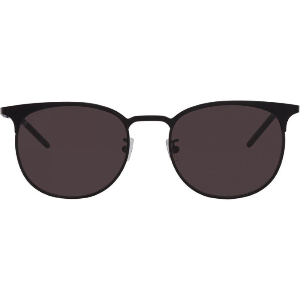 イヴ サンローラン Saint Laurent レディース メガネ・サングラス 【Black SL 350 Slim Sunglasses】Black