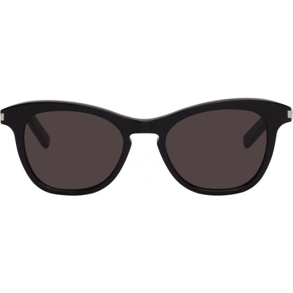 イヴ サンローラン Saint Laurent レディース メガネ・サングラス 【Black SL 356 Sunglasses】Black