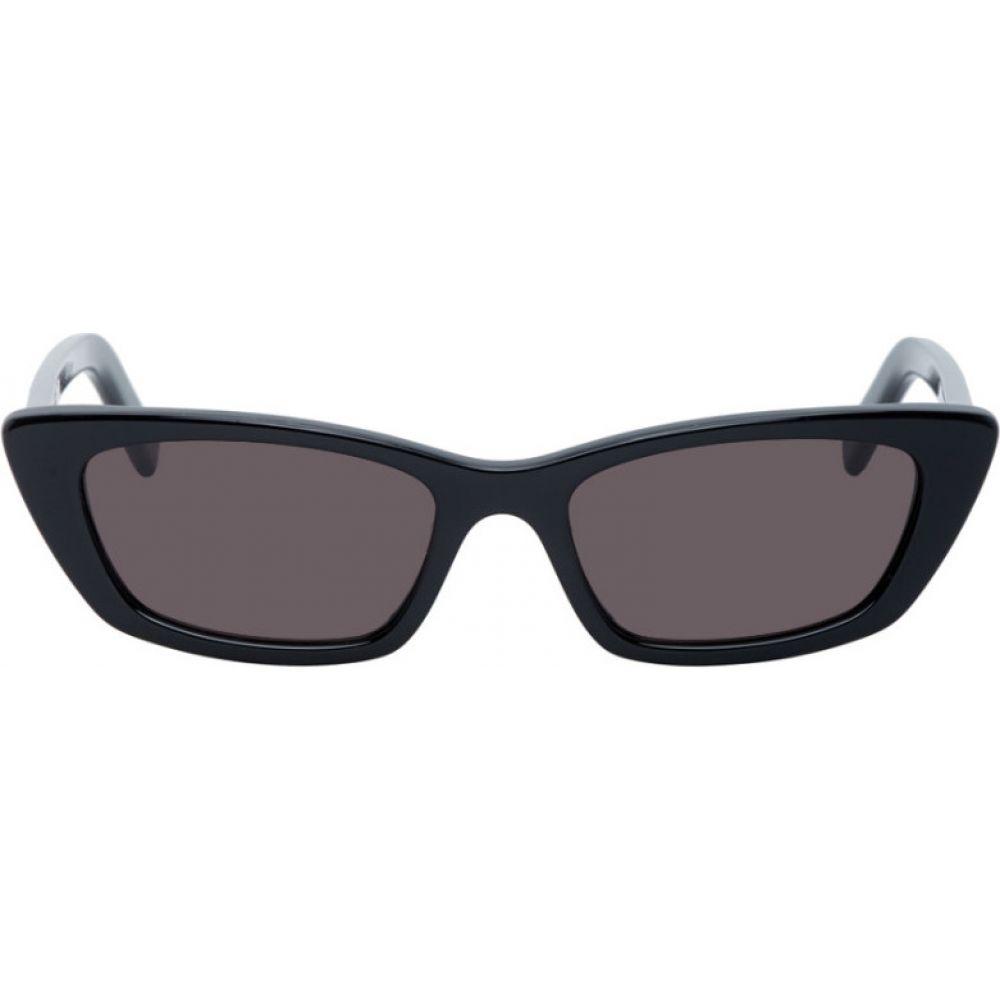 イヴ サンローラン Saint Laurent レディース メガネ・サングラス 【Black New Wave SL 277 Sunglasses】Black