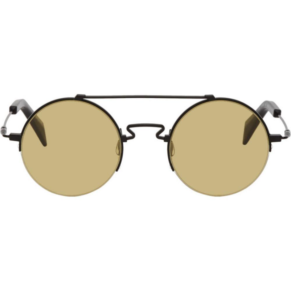 ヨウジヤマモト Yohji Yamamoto レディース メガネ・サングラス 【Black YY7028 Sunglasses】Black
