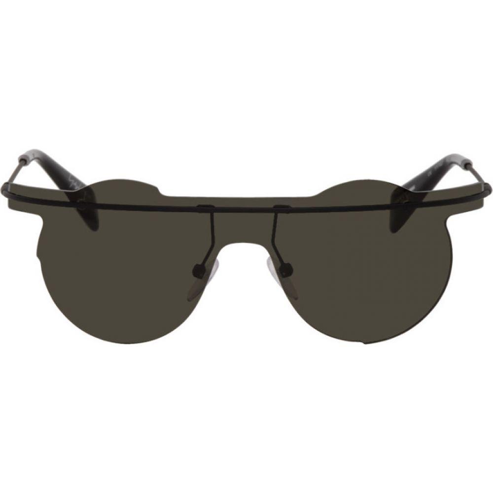 ヨウジヤマモト Yohji Yamamoto レディース メガネ・サングラス 【Black YY7027 Sunglasses】Black