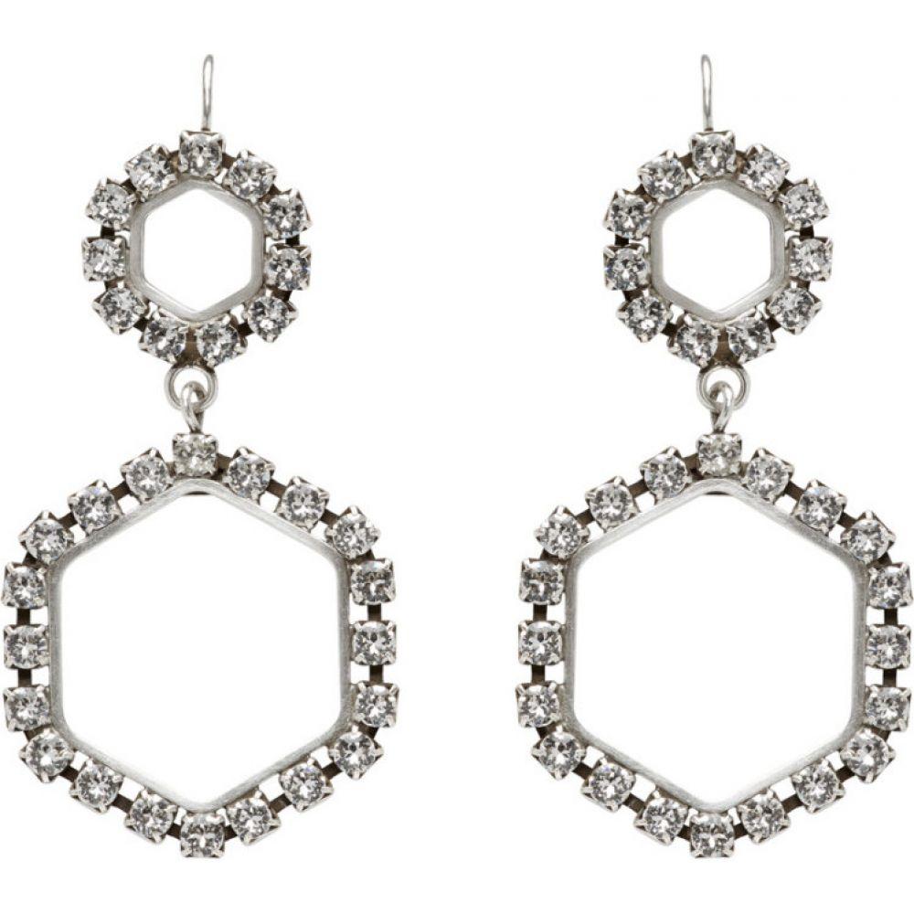 イザベル マラン Isabel Marant レディース イヤリング・ピアス ジュエリー・アクセサリー【Silver Here It Is Earrings】Transparent