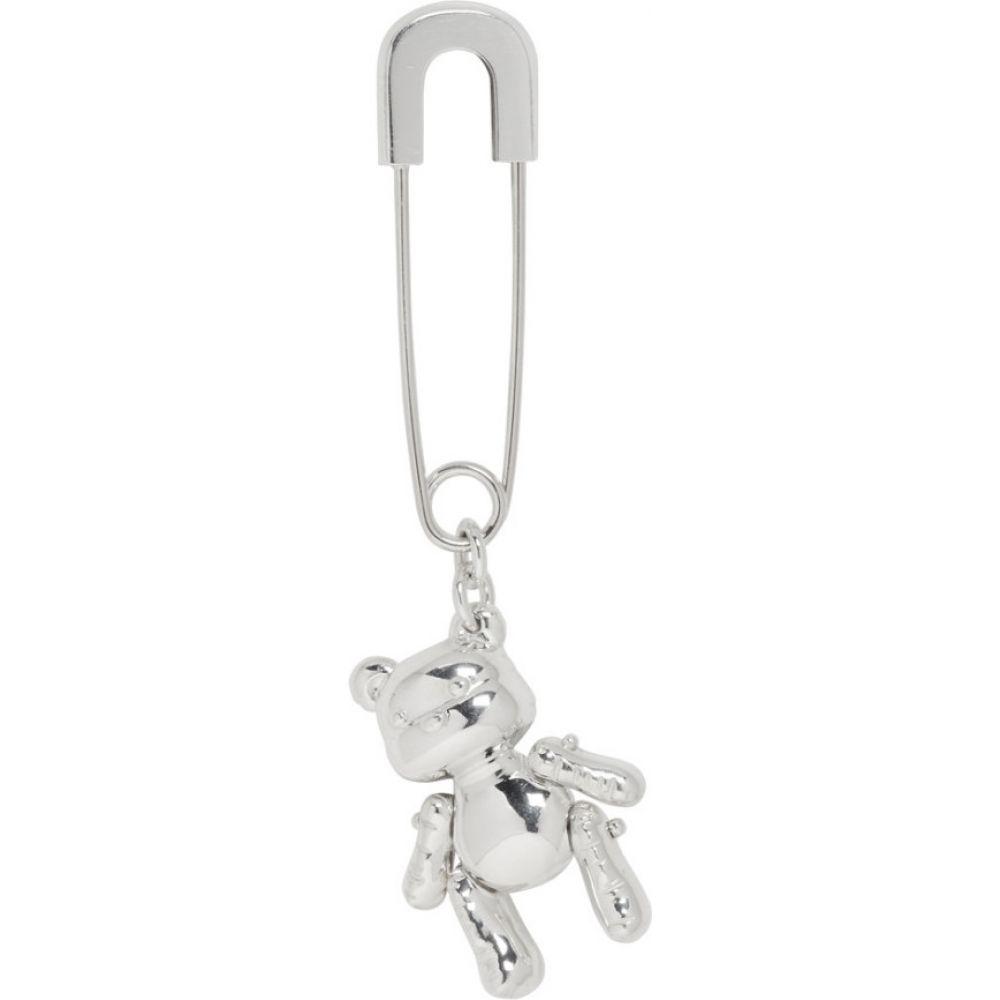 アンブッシュ Ambush レディース イヤリング・ピアス ジュエリー・アクセサリー【SSENSE Exclusive Silver Inflated Teddy Bear Earring】Silver