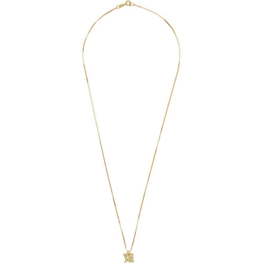 ミスビヘイブ MISBHV レディース ネックレス ジュエリー・アクセサリー【Gold Logo Necklace】Gold
