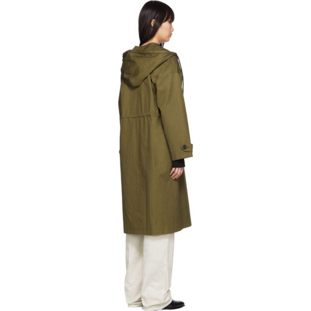 シチュアシオニスト The Loom レディース コート フード アウター Khaki Hood Coat KhakiEDH2YWI9