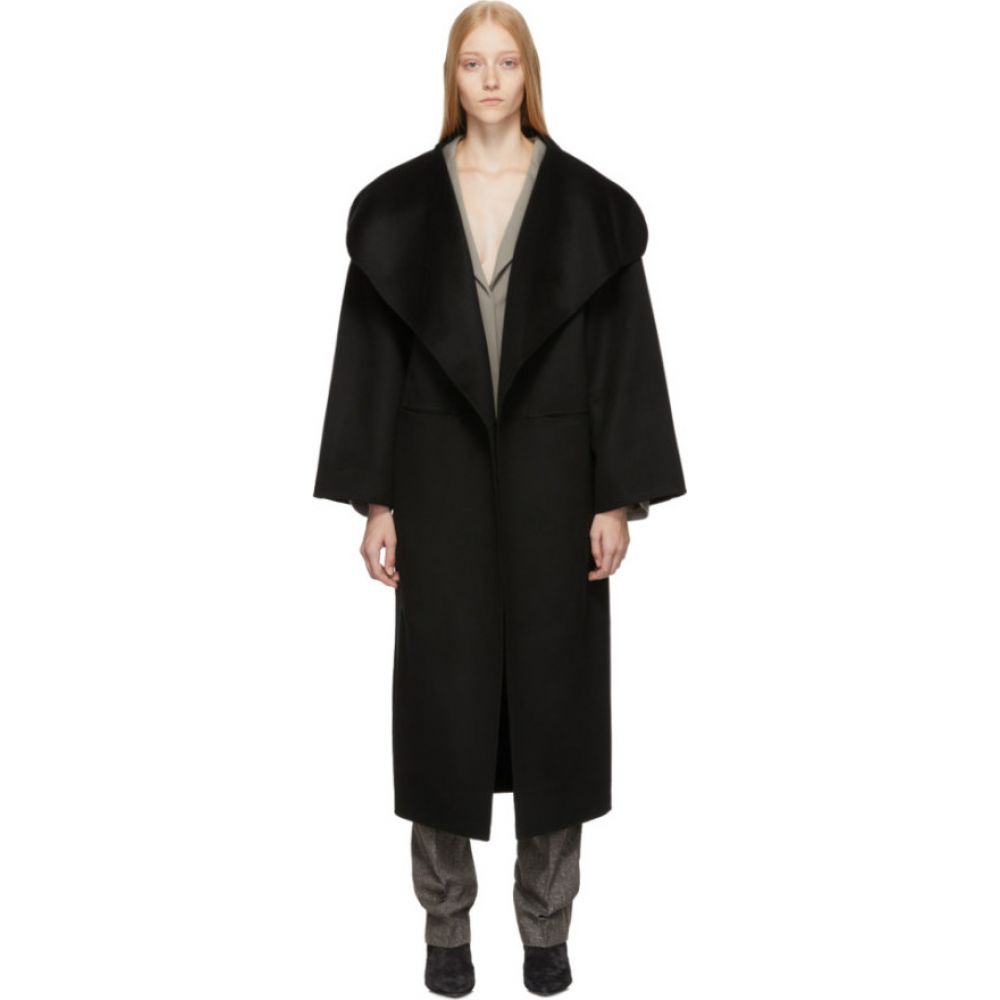 トーテム Toteme レディース コート アウター【Black Annecy Coat】Black