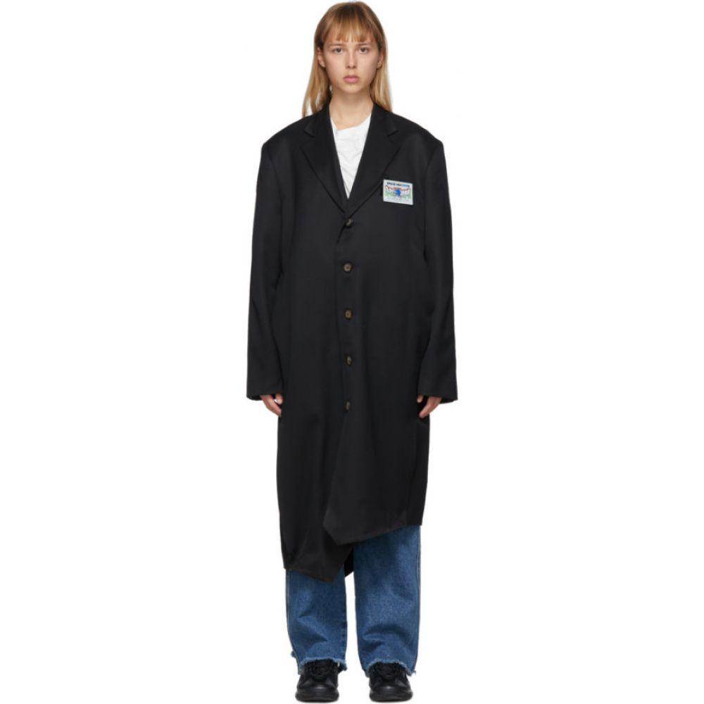 アーダーエラー ADER error レディース コート アウター【Black Wool Gamel Coat】Black