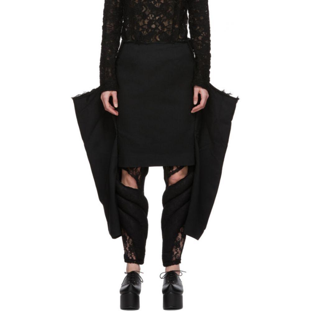 コム デ ギャルソン Comme des Garcons レディース ひざ丈スカート スカート【Black Legs Skirt】Black