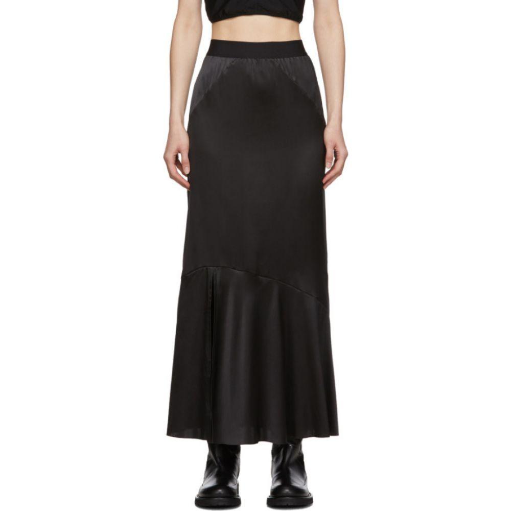 アンドゥムルメステール Ann Demeulemeester レディース ひざ丈スカート スカート【Black Bias Skirt】Black