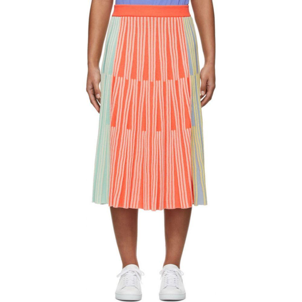 ケンゾー Kenzo レディース ひざ丈スカート スカート【Multicolor Stripe Ribbed Skirt】Multicolor