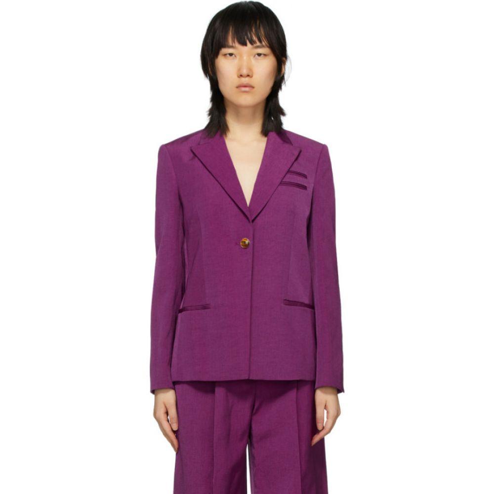 ネリー パートウ Partow レディース スーツ・ジャケット アウター【Purple Easton Blazer】Orchid
