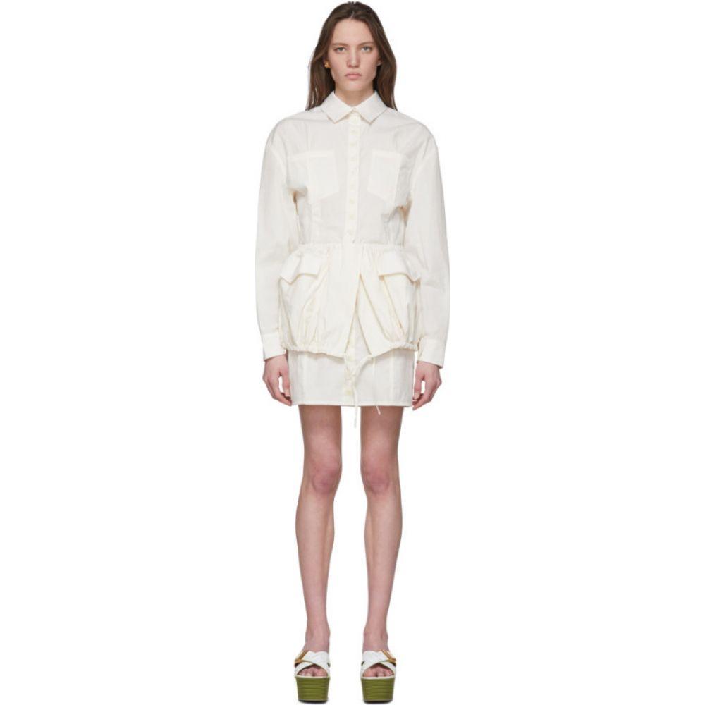 ジャックムス Jacquemus レディース ワンピース ワンピース・ドレス【White 'La Robe Cueillette' Dress】White