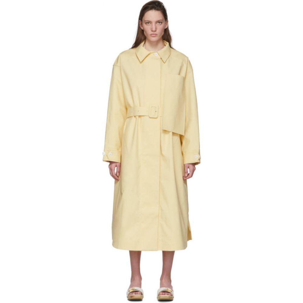 ジャックムス Jacquemus レディース コート アウター【Yellow 'Le Manteau Camiseto Long' Coat】Yellow
