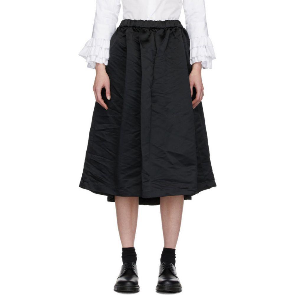 コム デ ギャルソン Comme des Garcons Comme des Garcons レディース ひざ丈スカート スカート【Black Satin Skirt】Black
