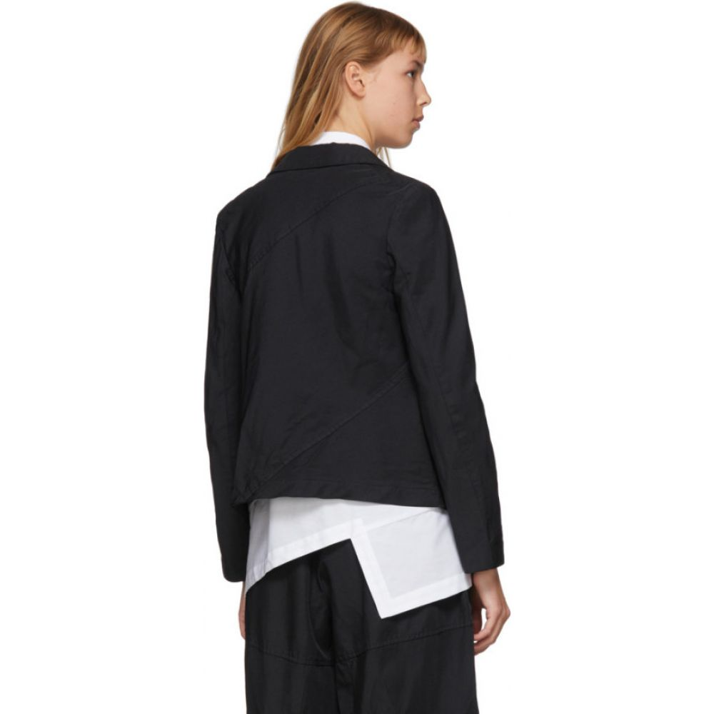 コム デ ギャルソン Comme des Garcons Comme des Garcons レディース スーツ・ジャケット アウター Black Gabardine Diagonal Stitch Blazer Black3cJTK1luF