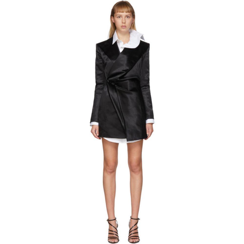 ワイプロジェクト Y/Project レディース ワンピース ブレザードレス ワンピース・ドレス【Black Pop-Up Blazer Dress】Black