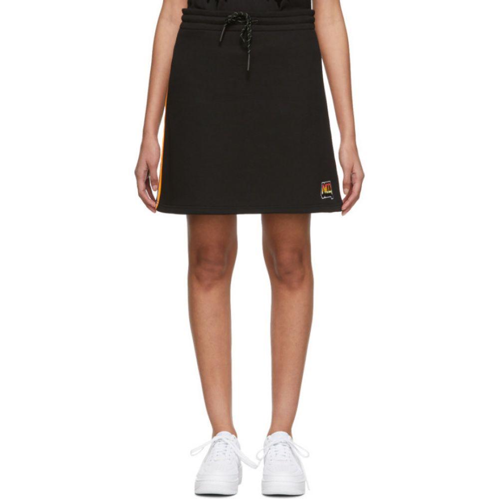 アレキサンダー マックイーン McQ Alexander McQueen レディース ミニスカート スカート【Black Racer Miniskirt】Dark black