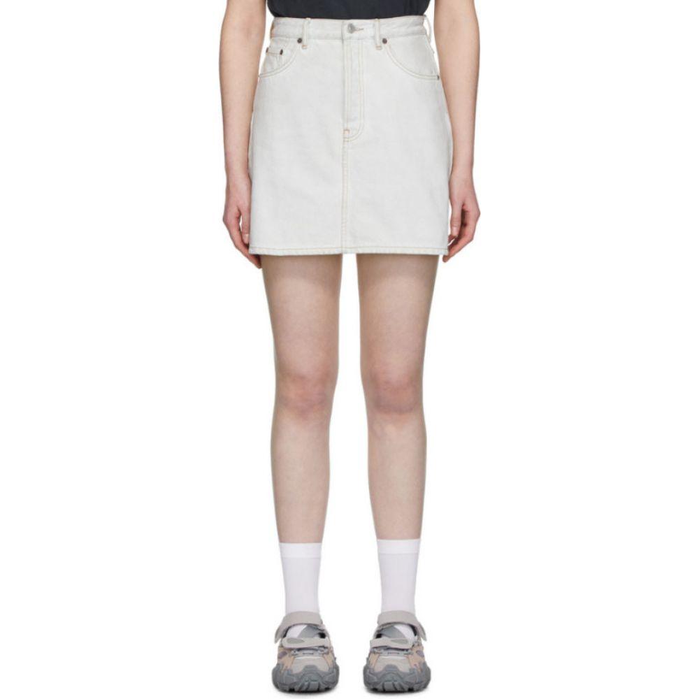 アクネ ストゥディオズ Acne Studios レディース ミニスカート スカート【Blue Bla Konst Denim High-Rise Miniskirt】Pale blue