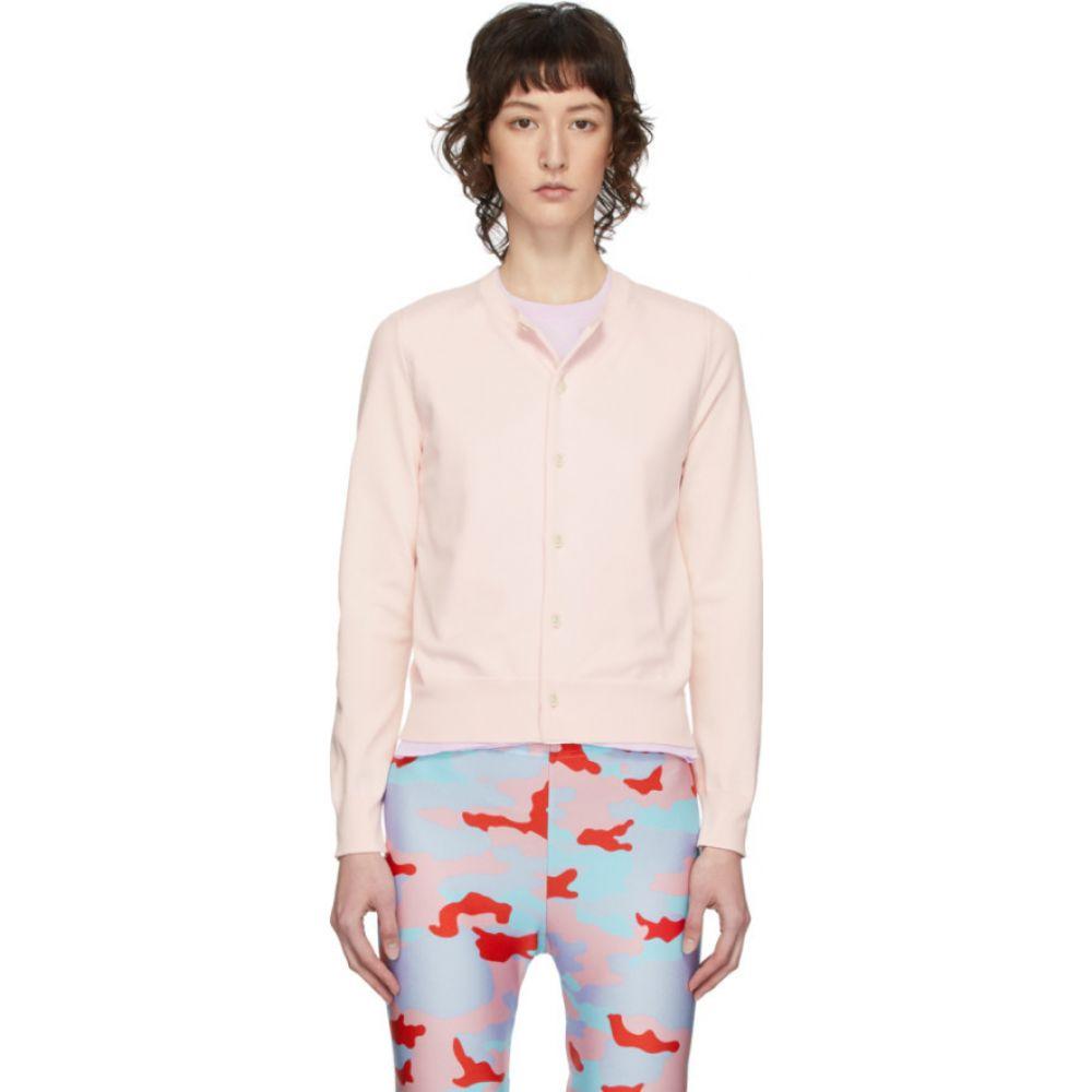 コム デ ギャルソン Comme des Garcons レディース ニット・セーター トップス【Pink & Purple Double Crewneck Sweater】Pink/Purple