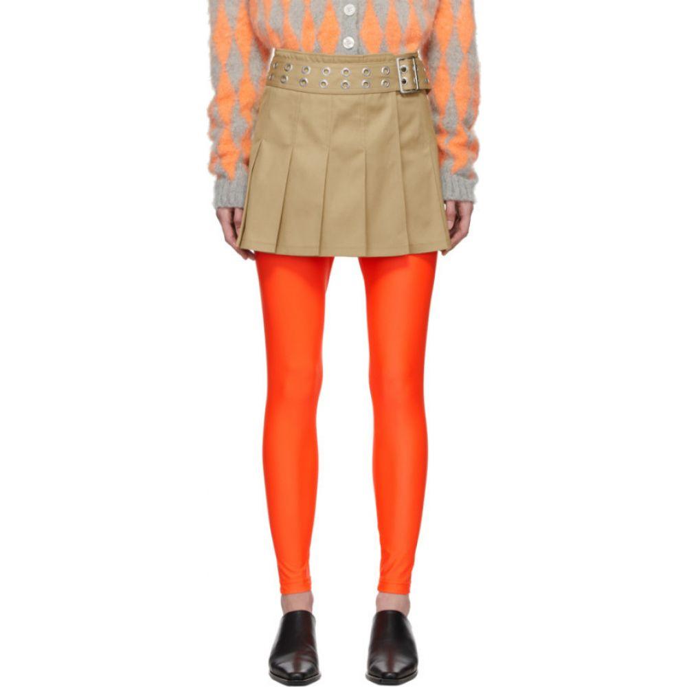 ジュンヤ ワタナベ Junya Watanabe レディース ミニスカート スカート【Beige Pleated Miniskirt】Beige