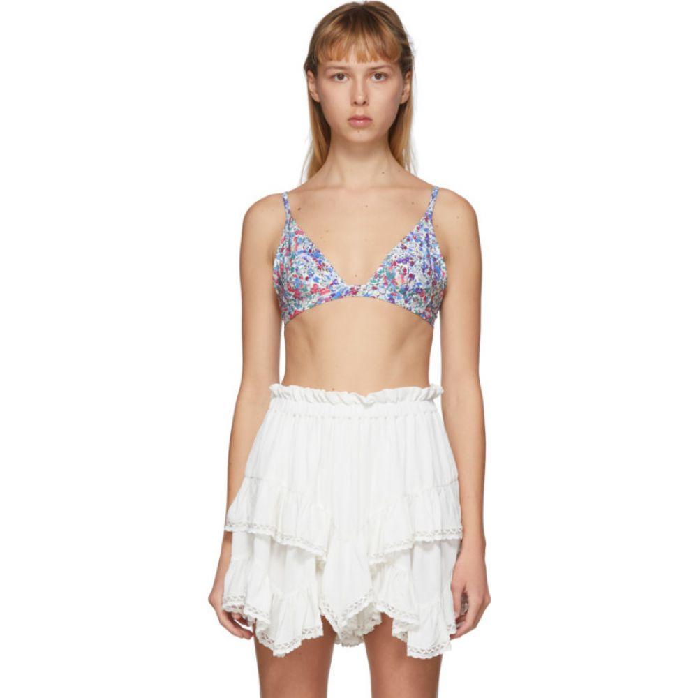 イザベル マラン Isabel Marant レディース トップのみ 水着・ビーチウェア【Blue Niall Bikini Top】Blue